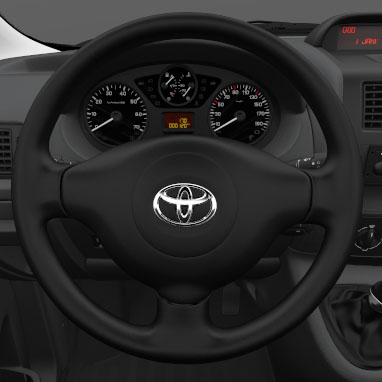 Manual tilt and telescopic steering wheel