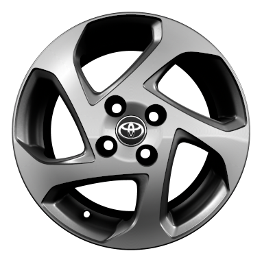 "15"" alloy wheels (5-spoke)"