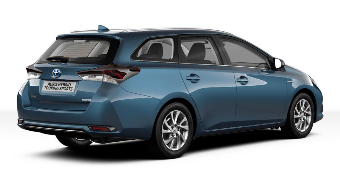 Auris Touring Sports Hybrid Trend Selection