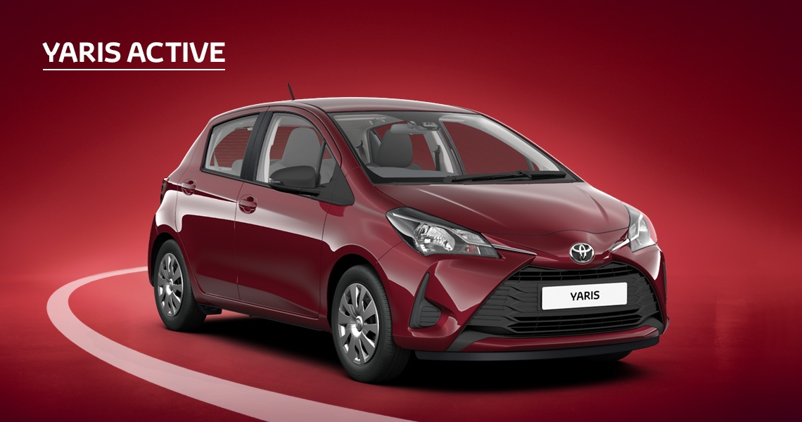 £500 Customer Saving on Yaris Active (Exc Hybrid)