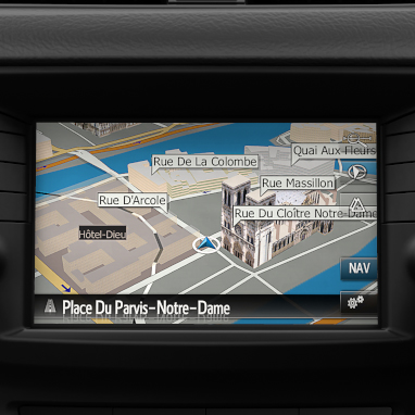 Toyota Touch® 2 with Go Plus navigation system