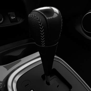 Dark shadow grey gear shift knob