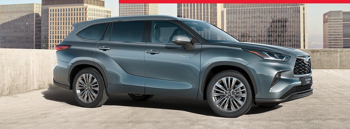 Jaunā Toyota Highlander iepazīšanās piedāvājums