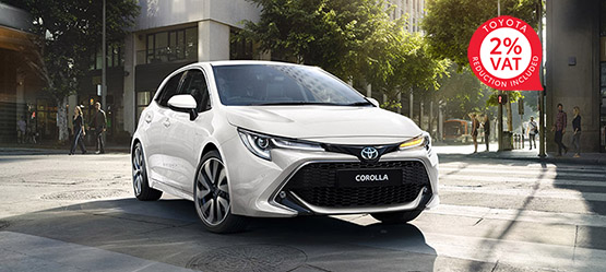 The All-New Corolla Hatchback
