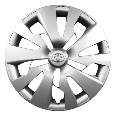 "15"" steel wheels with wheel caps (10-spoke)"