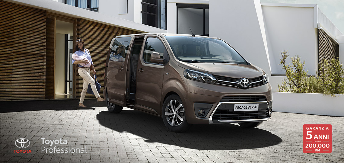 PROACE VERSO - Toyota Professional