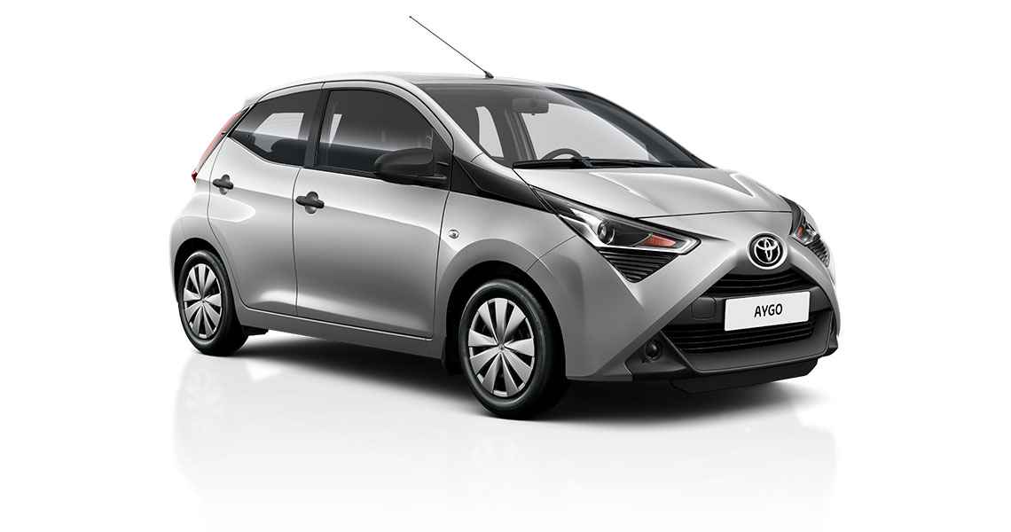 Aktionsmodell Aygo x-young