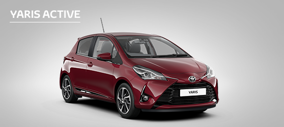 £305 Customer Saving on Yaris Active (Exc Hybrid)