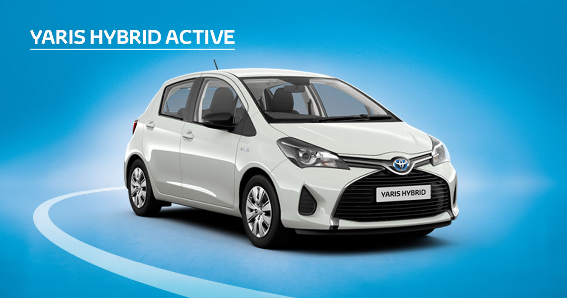 £320 Customer Saving Available on Yaris Active HSD