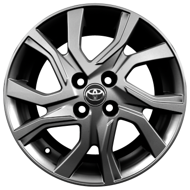 "16"" alloy wheels (5 double-spoke)"