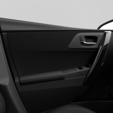 Soft-touch door trim