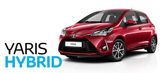 Toyota Yaris Hybrid kampaaniapakkumine