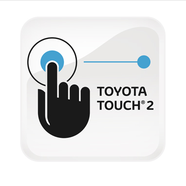 Multimeediasüsteem Toyota Touch® 2