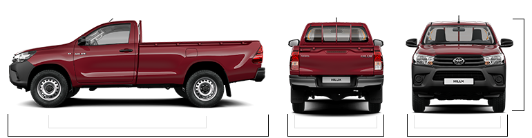 Hilux Models Amp Specifications Toyota Uk